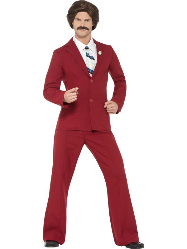 Anchorman Ron Costume