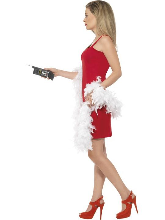 Beautiful Movie Clueless Cher Ladies Red Fancy Dress Costume Hen Party Outfit Thumbnail 3