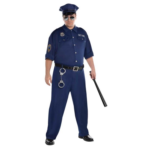 Mens Plus Size On Patrol costume
