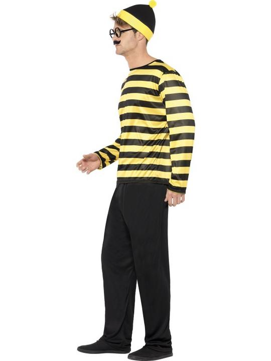 Mens Where's Wally Odlaw Fancy Dress Costume Thumbnail 3