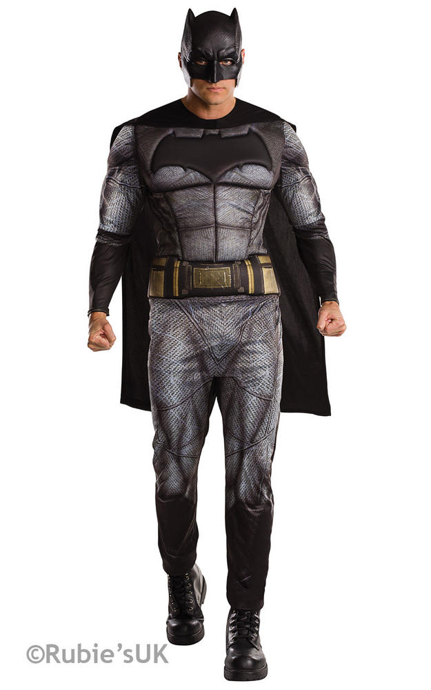 Men's Batman Dawn of Justice Fancy Dress Costume