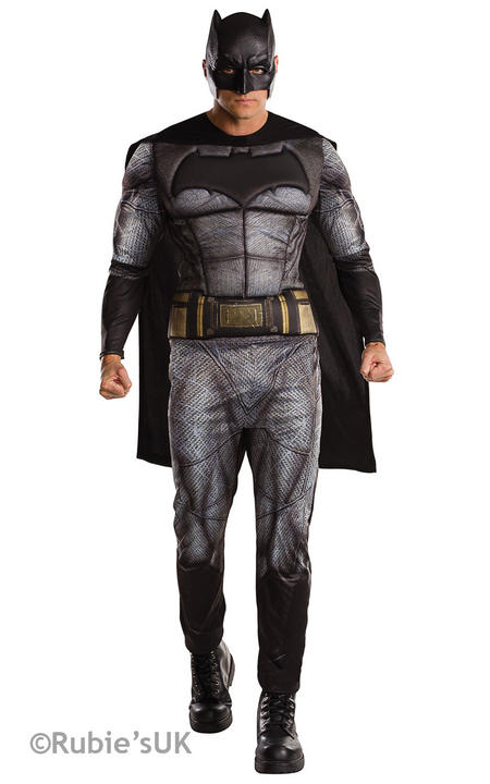 Men's Batman Dawn of Justice Fancy Dress Costume Thumbnail 1