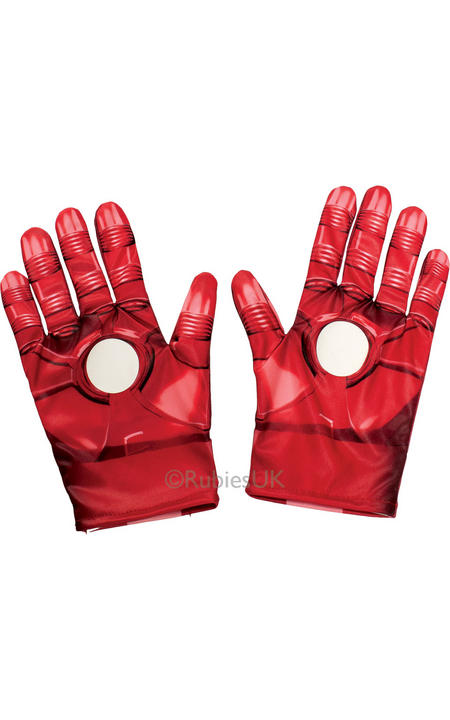 Boy's Iron Man Gloves Thumbnail 1
