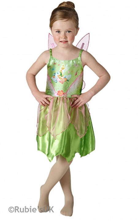 Classic Tinkerbell Fancy Dress Costume Thumbnail 1