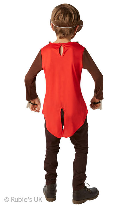 Boy's Mr Monkey Fancy Dress Costume Thumbnail 2