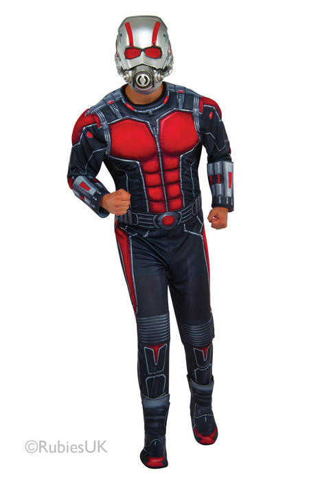 Men's Ant-Man Fancy Dress Costume Thumbnail 1