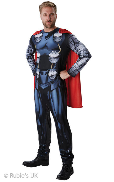 Thor Classic Men's Fancy Dress Costume Thumbnail 1
