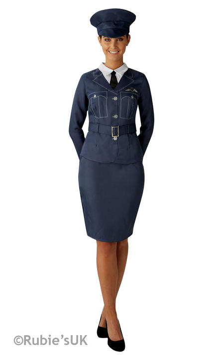 Women's WRAF Fancy Dress Costume Thumbnail 1