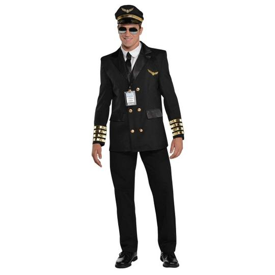 Captain Wingman Fancy Dress Costume Thumbnail 1