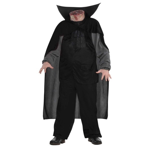Boys Halloween Headless Horseman Costume Kids Horror Fancy Dress Outfit