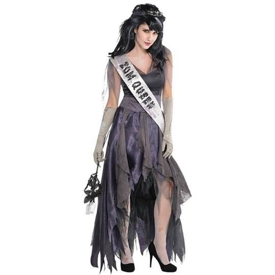 Womens Homecoming Corpse Dress Ladies Fancy Dress Costume Thumbnail 1