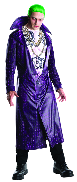 Joker Men's Fancy Dress Costume Thumbnail 1