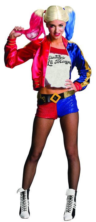Harley Quinn Suicide Squad Women's Fancy Dress Costume Thumbnail 1
