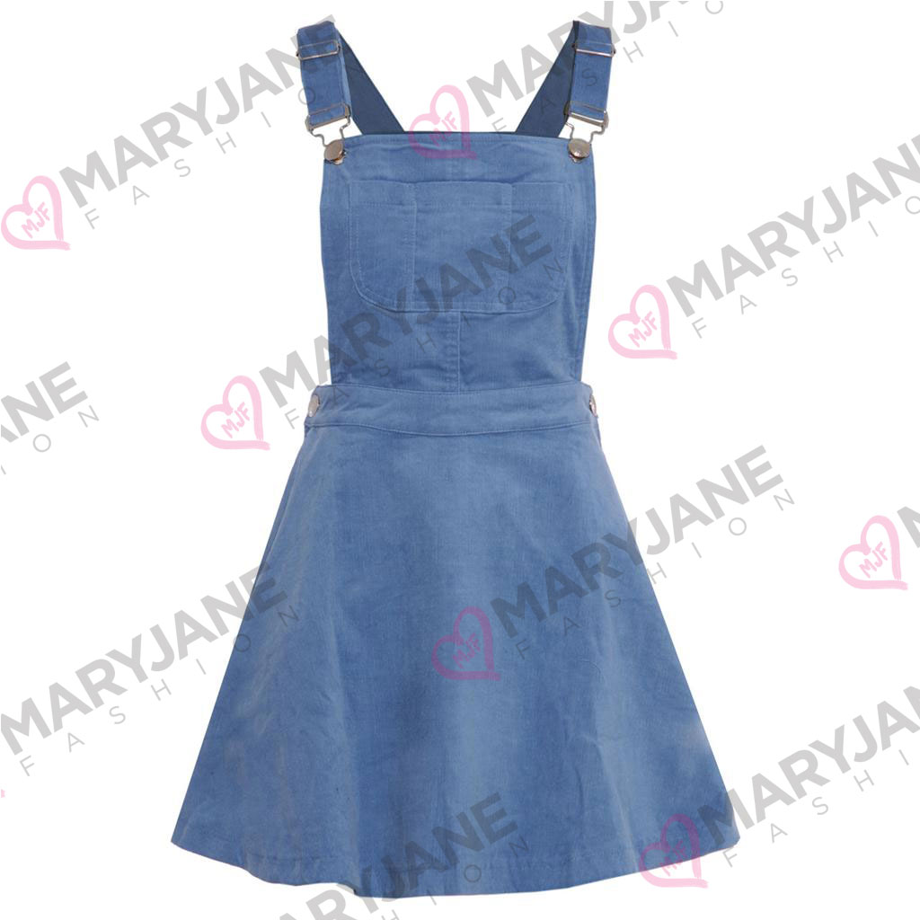 how to make a dungaree skater dress