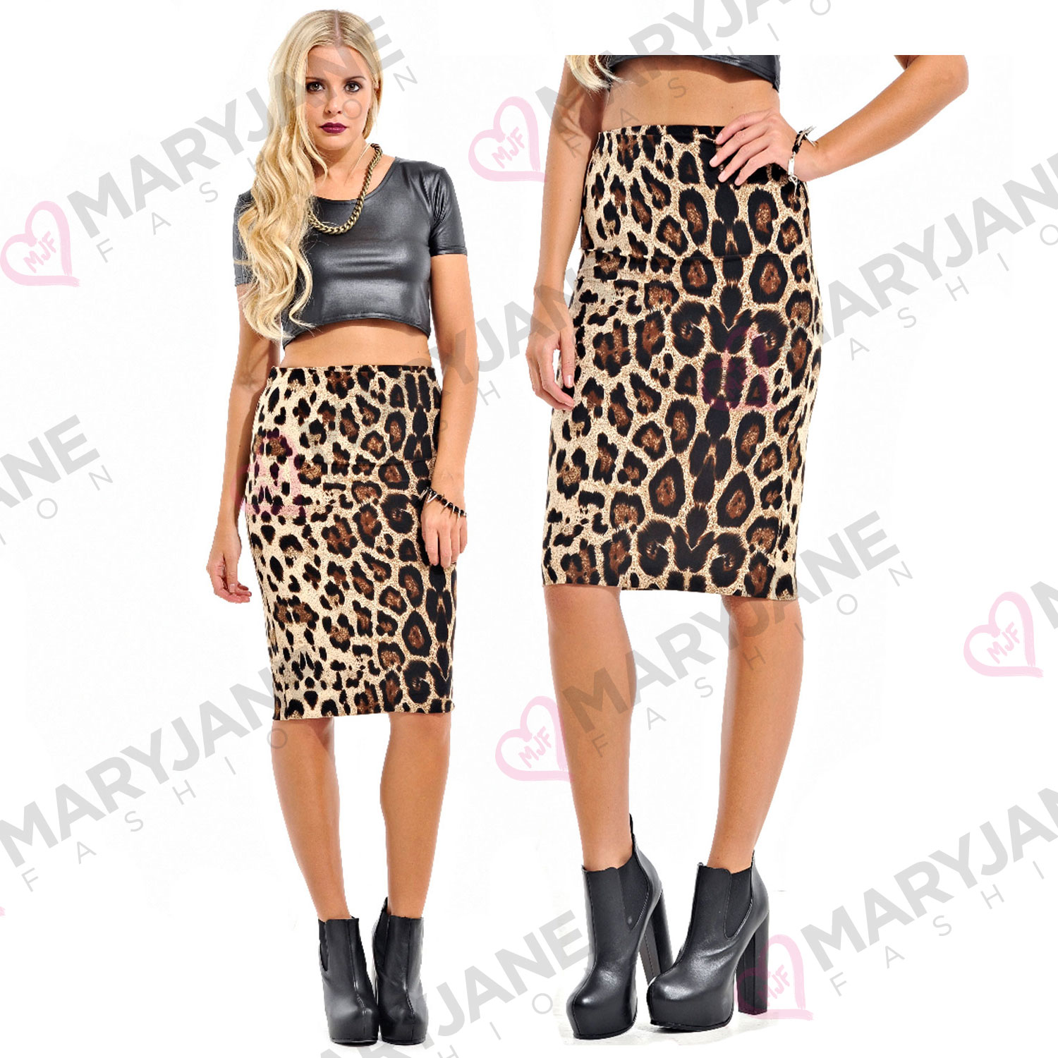 womens leopard print stretchy high waisted