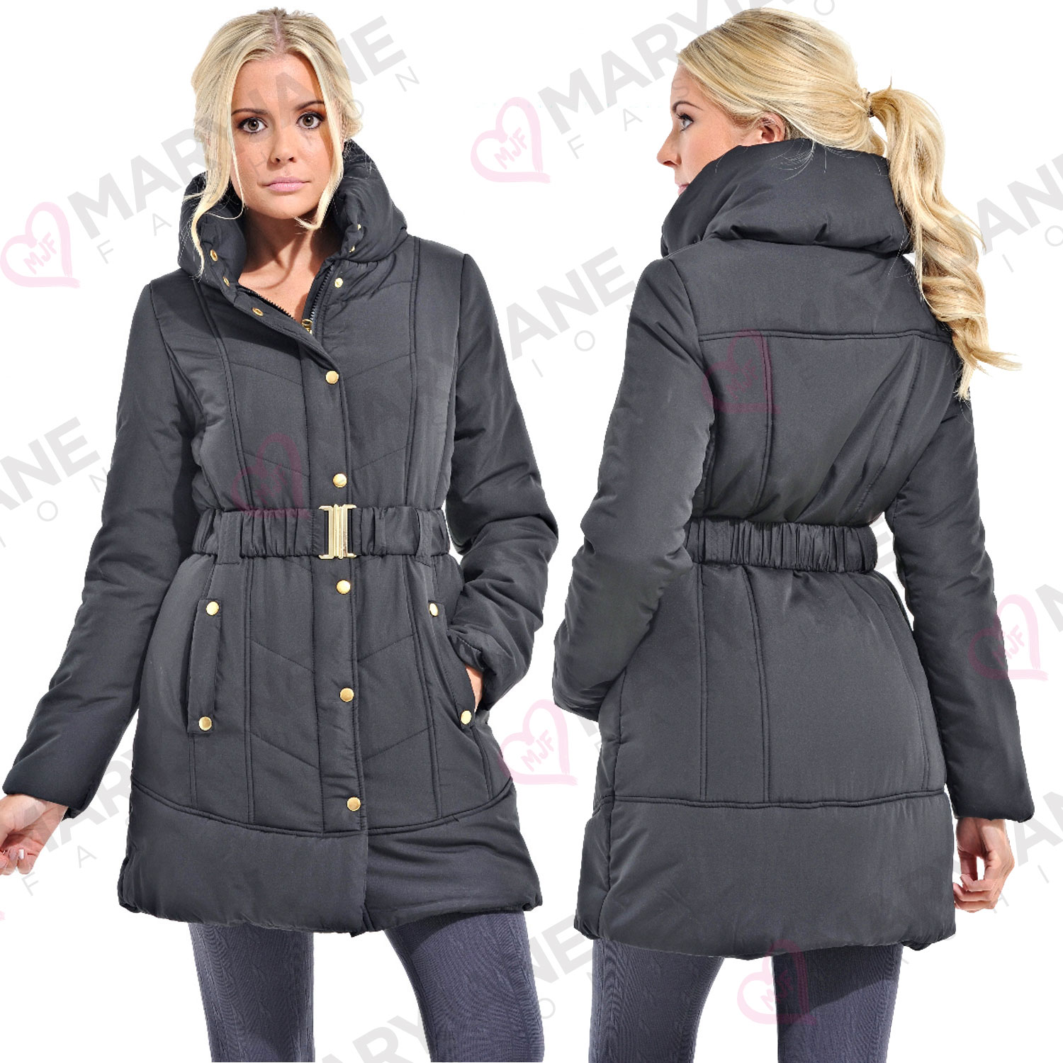 Padded Coats. Clothing. Women. Womens Coats & Jackets. Padded Coats. Showing 48 of results that match your query. Search Product Result. Product - Women Padded Blazer Jacket Long Sleeve Cardigan Zip Up Tops Outwear Biker Coat Motorcycle Overcoat Plus Size. Product Image. Price $