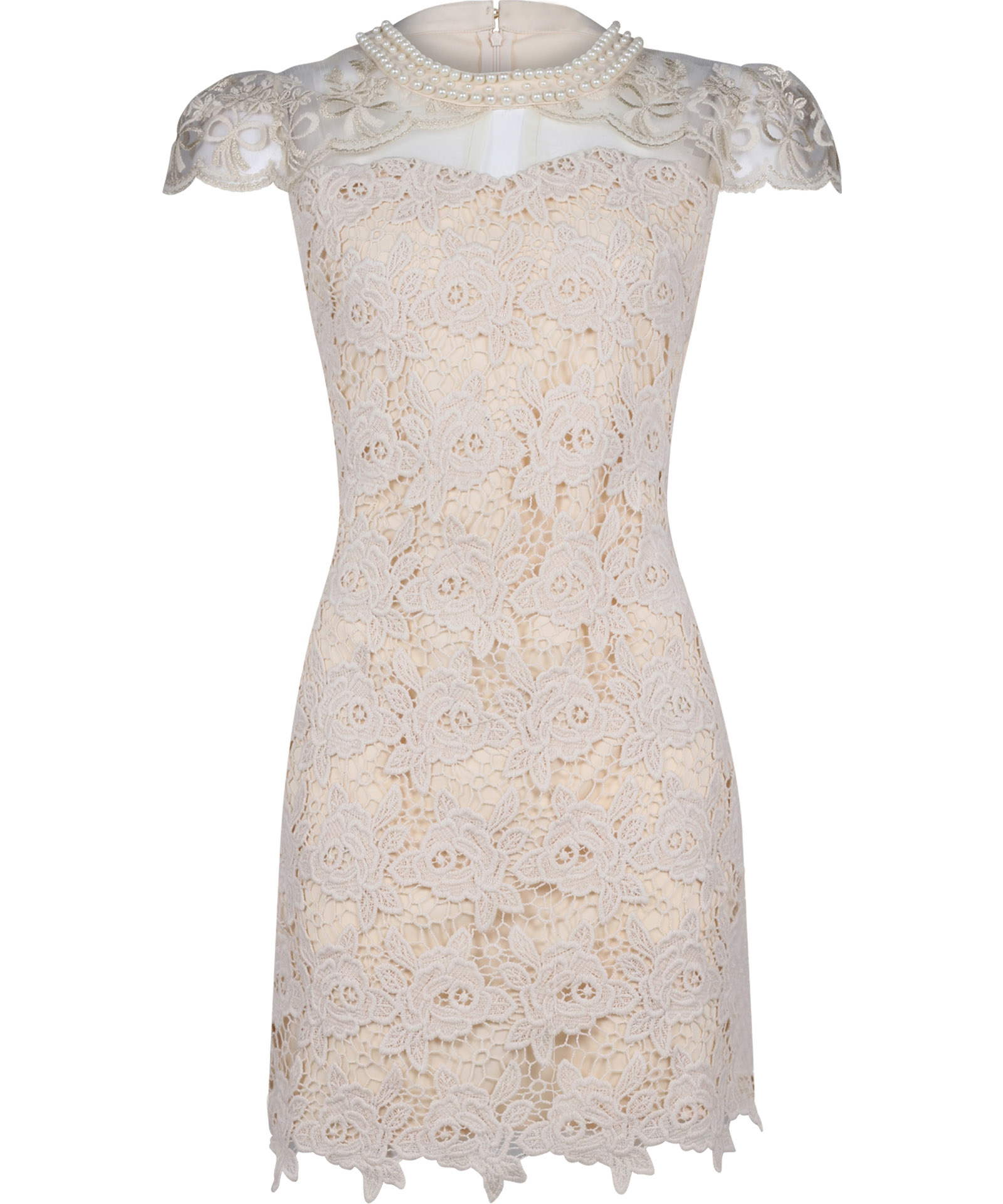 View Item Embroidered Shift Dress Crochet Dress Party Dress Evening Dress By Own The Runway