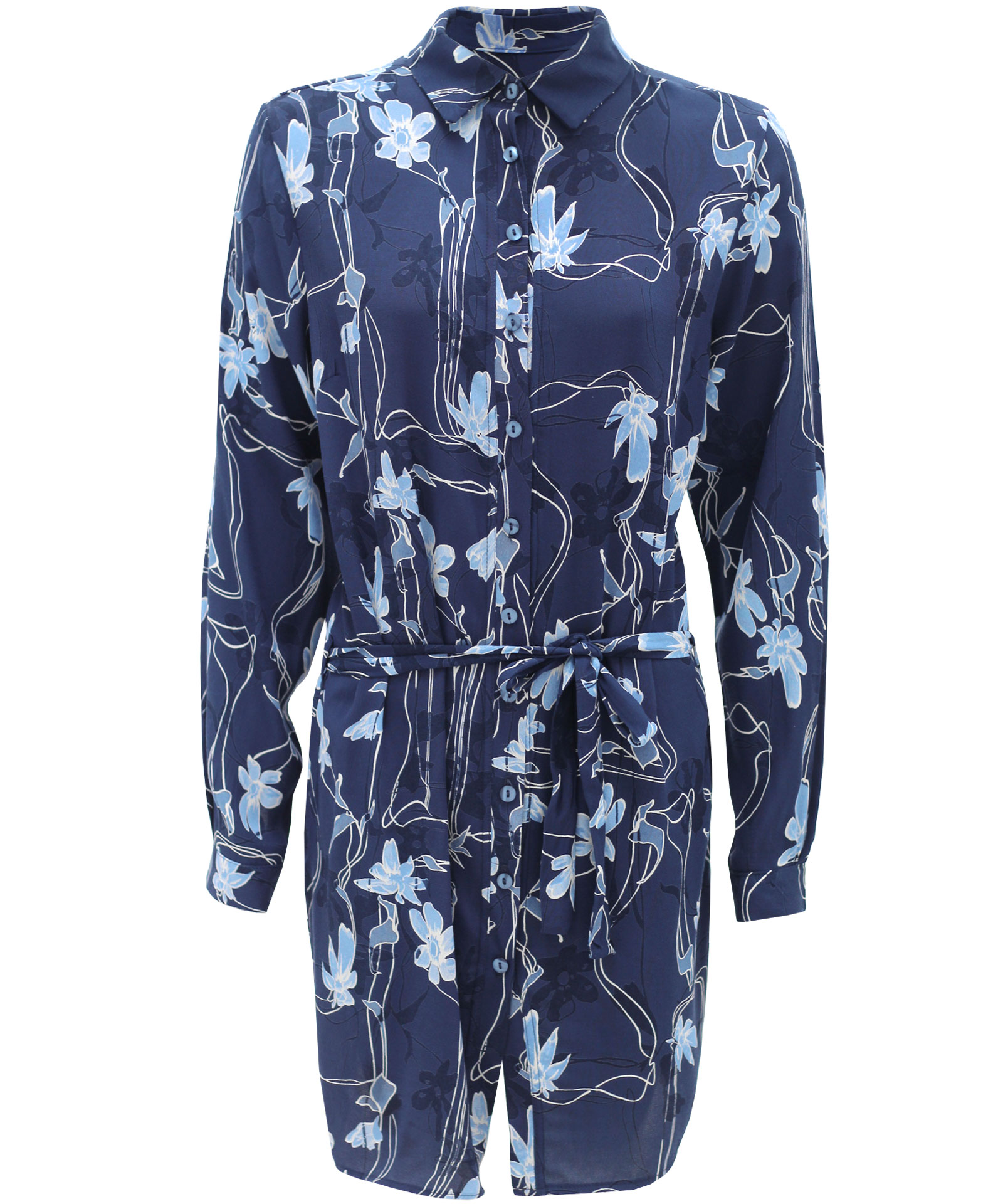 New womens ladies floral paisley print button up long for Floral print button up shirt