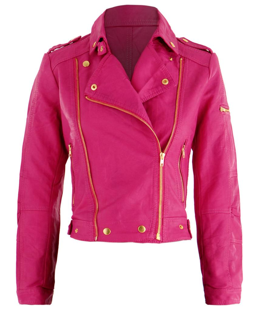 Find great deals on eBay for pink faux leather jacket. Shop with confidence.