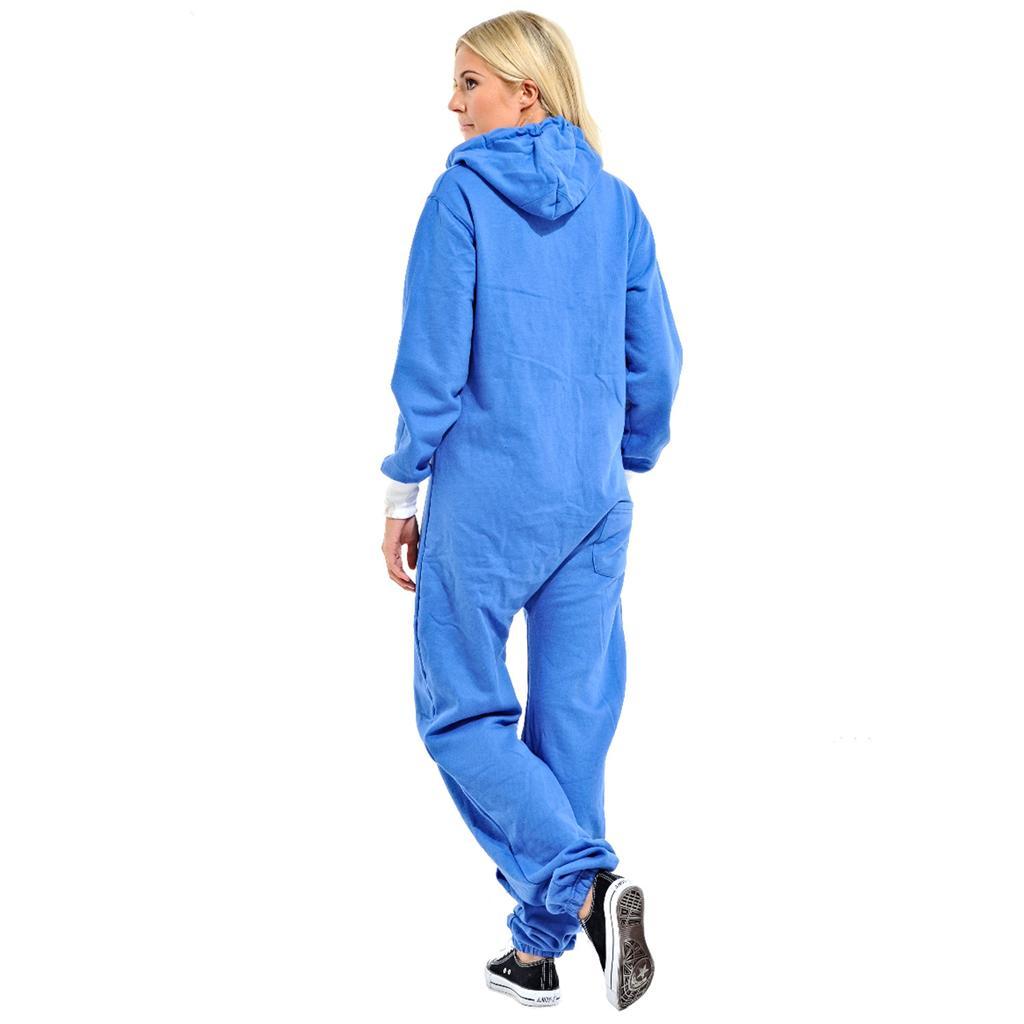 unisex erwachsene overall jumpsuit mit kapuze m l xl xxl. Black Bedroom Furniture Sets. Home Design Ideas