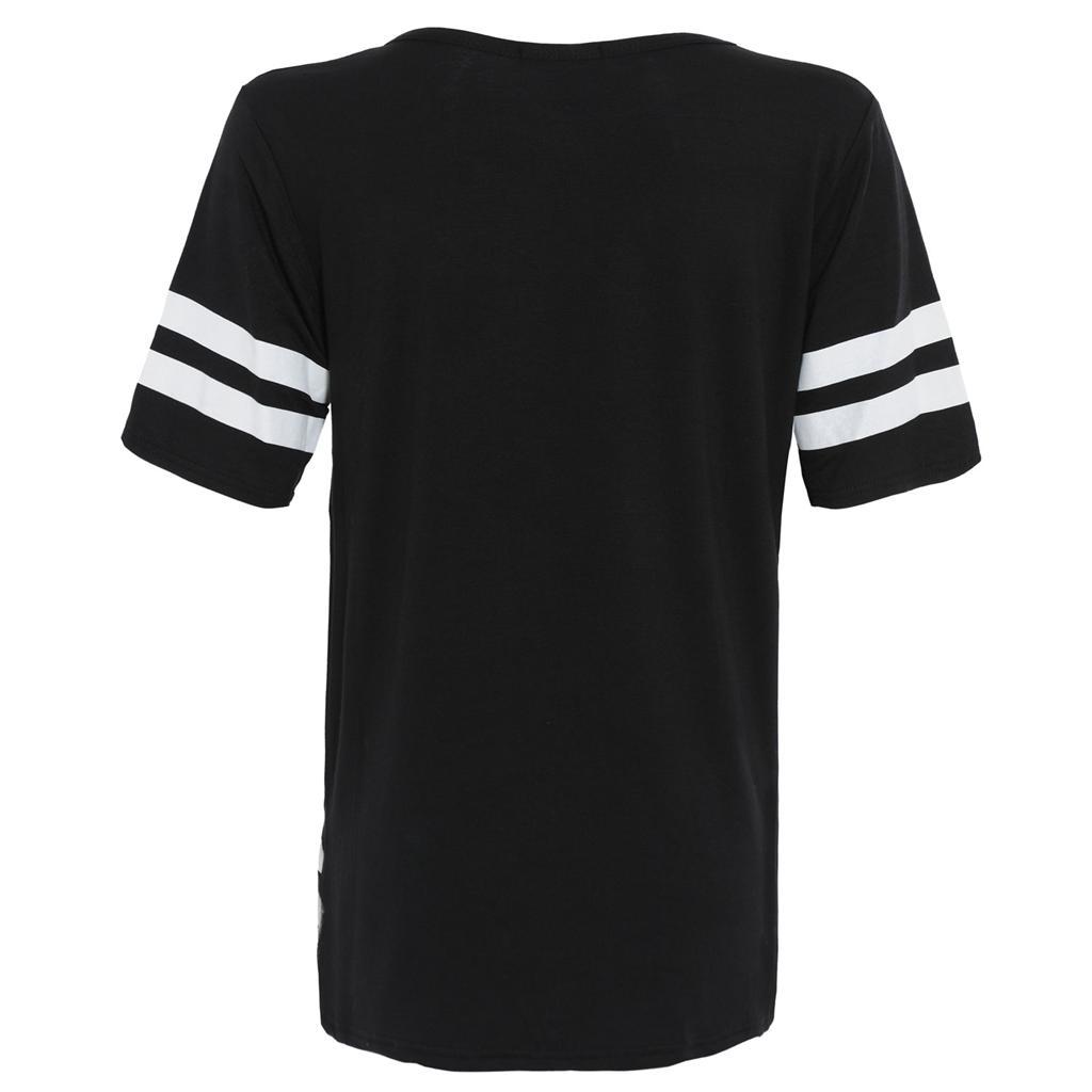 uni baseball trikot bergr e aufdruck t shirt damen 36 42 ebay. Black Bedroom Furniture Sets. Home Design Ideas