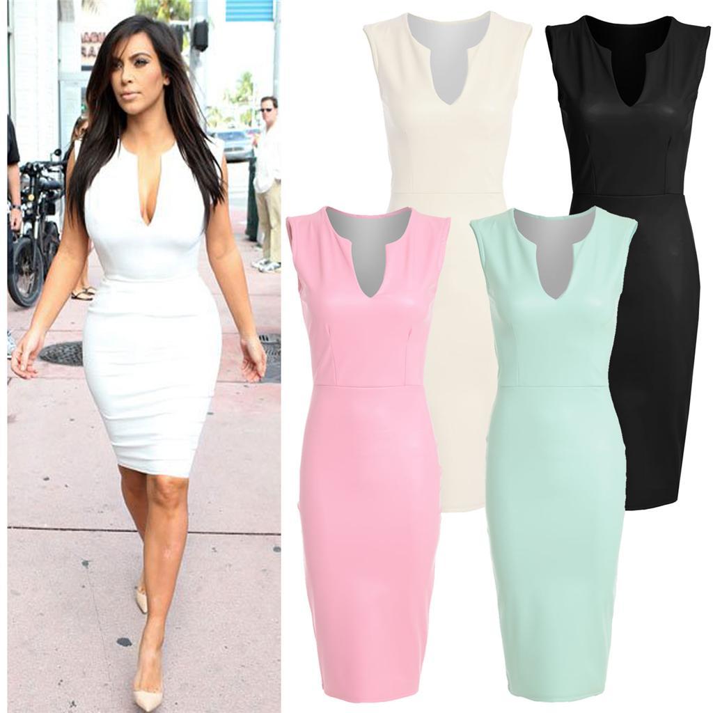 ceb24c9ab10a Image is loading Womens-Kim-Kardashian-Plain-Pastel-Matte-PU-Leather-