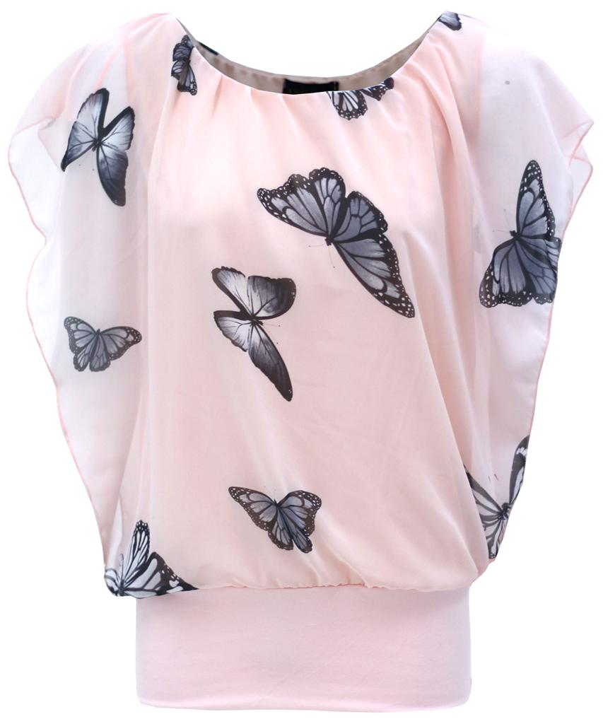 Butterfly Tops. Showing 48 of results that match your query. Search Product Result. Product - Pink Fade Women's Shirt With Yellow Butterfly Graphic (XL/XXL) Product - INC International Concepts Womens Floral Print Butterfly Sleeve Top M. Product Image. Price $ Product Title.