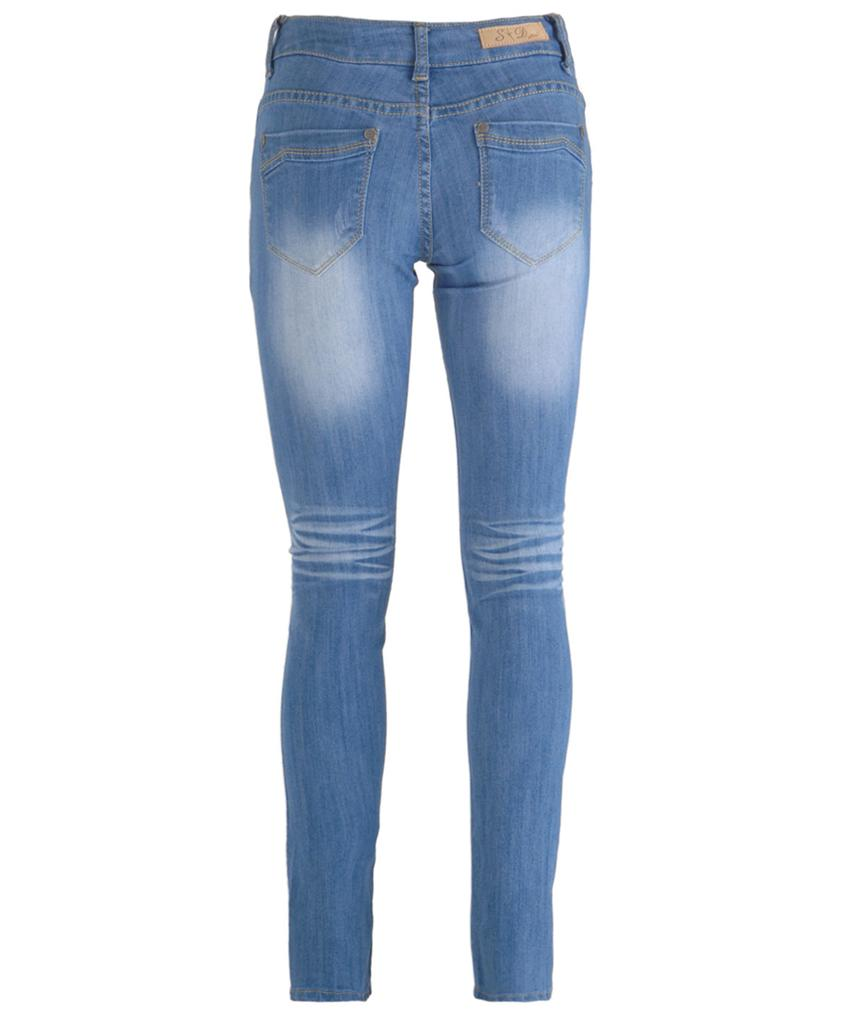 Pale blue skinny jeans - Jeans : Mince His Words