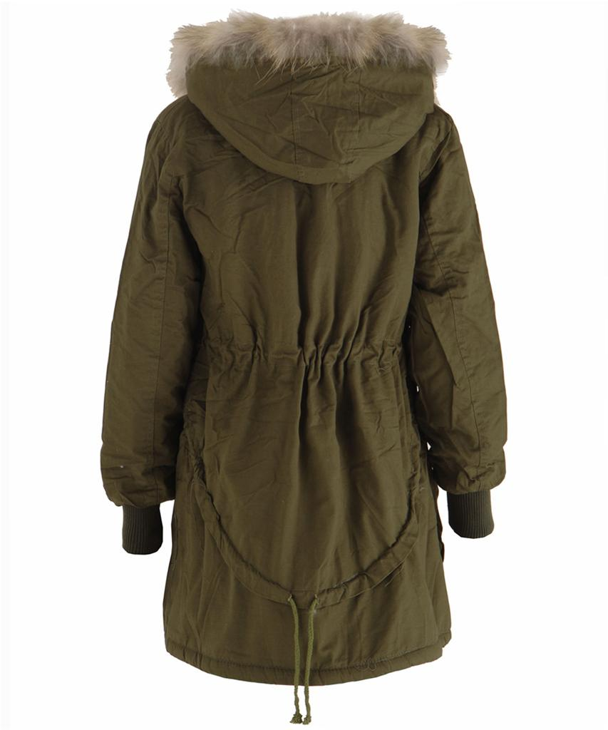 We really do think we've created the perfect casual coat in this parka. Not only is it fully lined in thick, plush faux fur, but it can also be totally detached and worn as a lighter layer on warmer days, ensuring your get plenty of wear out of it, season after season. Three outside pockets and a gathered waist and hem add practicality and a flattering finish, .