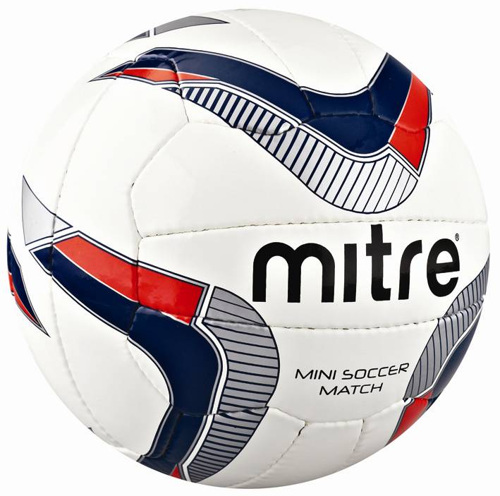 Mitre B4050 Mini Soccer Football Training Match Practice Skills Ball Sizes 3-4