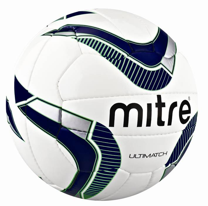 New Mitre B4037 Ultimatch Football Training Quality Match Practice Soccer Ball