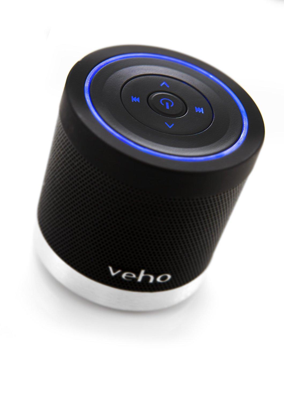 veho tragbarer 360 bluetooth lautsprecher f r iphone. Black Bedroom Furniture Sets. Home Design Ideas