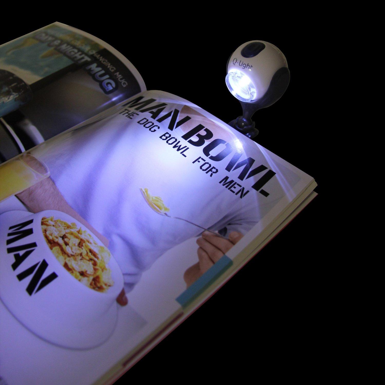 portable book light led light source for reading books clothing