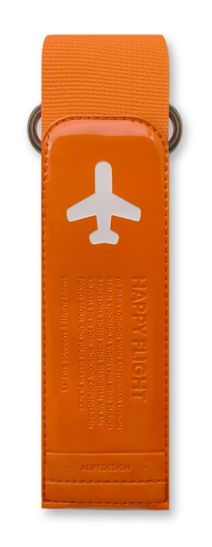 Alife Happy Flight Travel Luggage Adjustable Strap Baggage Belt Grip to Your Bag