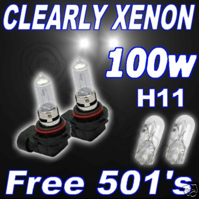 100w xenon ampoules claires h11 feux anti brouillard bmw x3 all ebay. Black Bedroom Furniture Sets. Home Design Ideas