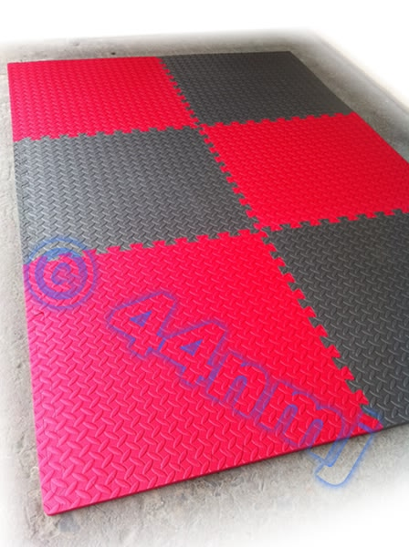 12mm Thick Anti Fatigue Protective Eva Foam Flooring Mats Tiles New