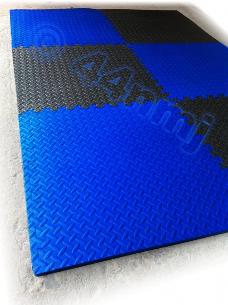 12mm thick anti fatigue protective eva foam flooring mats for Foam flooring