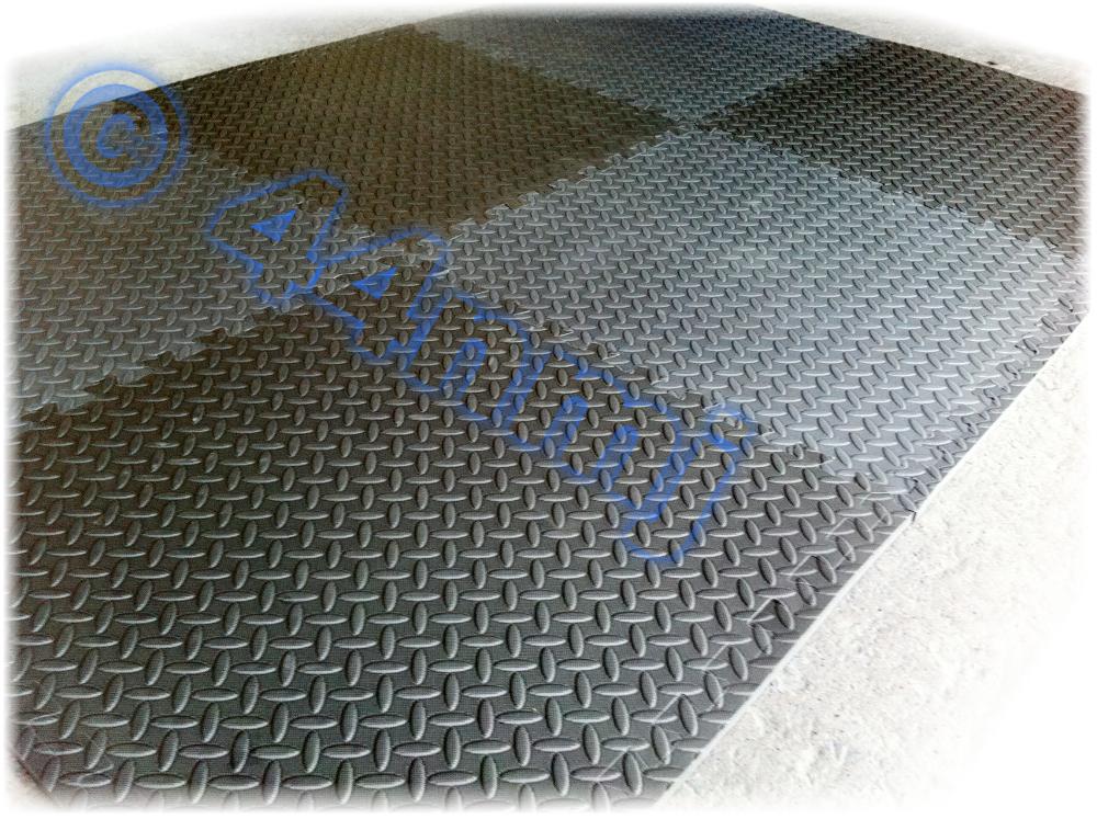 Anti Fatigue Flooring : New anti fatigue garage workshop showroom protective eva
