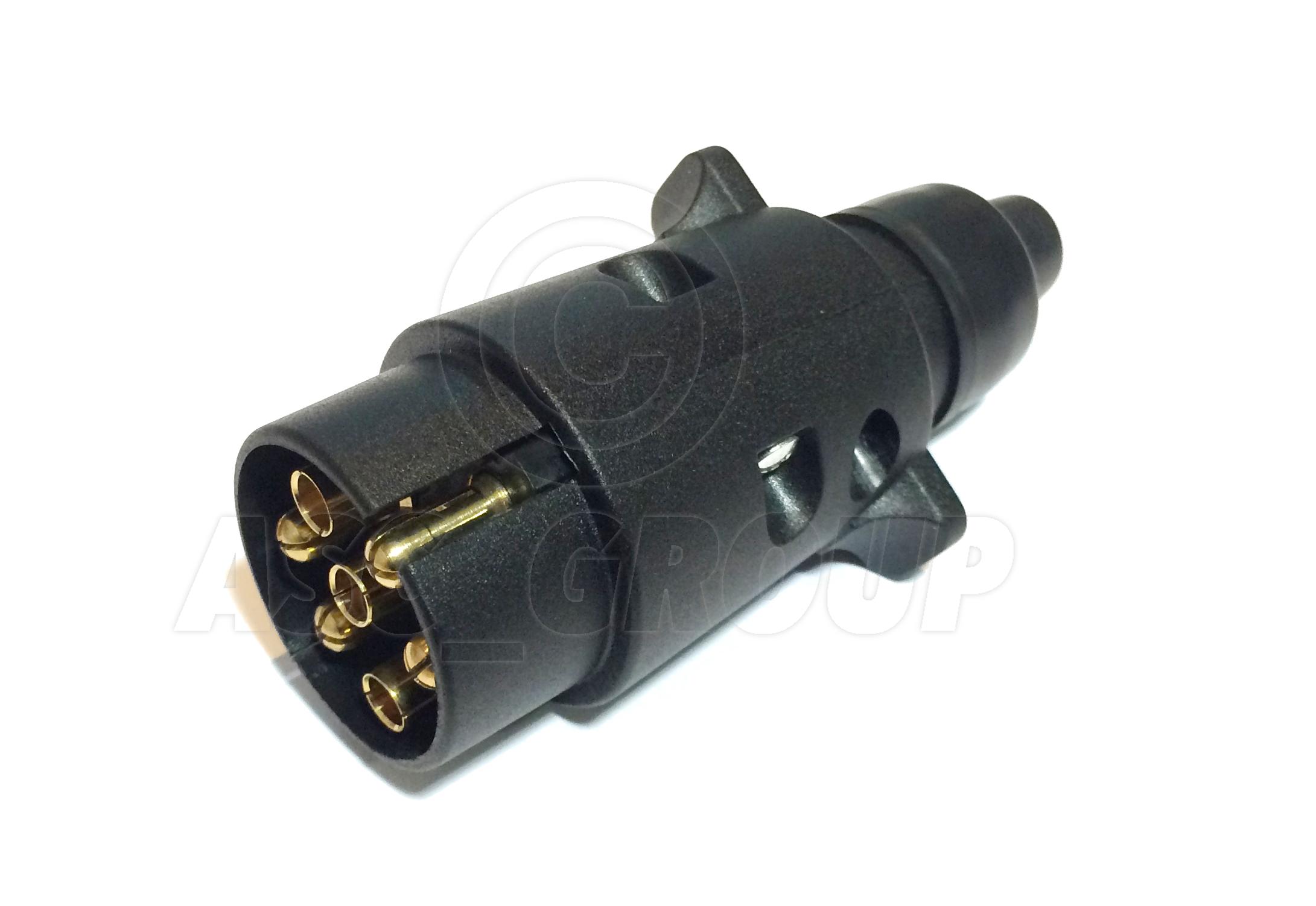 Trailer    Caravan Wiring Lights Etc 7 Pin Plastic Plug