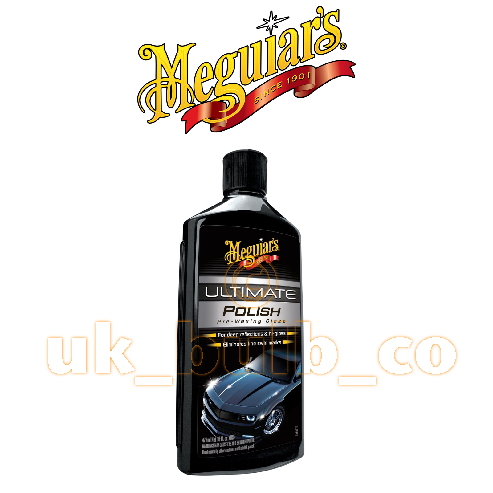 meguiars ultimate polish pre wax glaze deep wet look 473ml. Black Bedroom Furniture Sets. Home Design Ideas