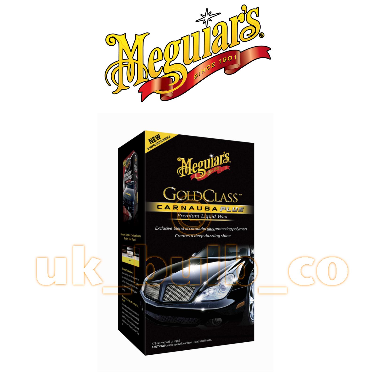 meguiars gold class wax instructions