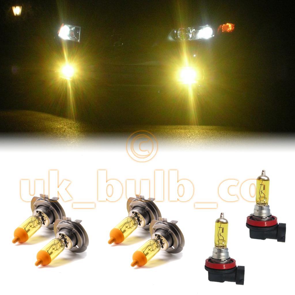 yellow xenon headlight fog bulbs for land rover. Black Bedroom Furniture Sets. Home Design Ideas