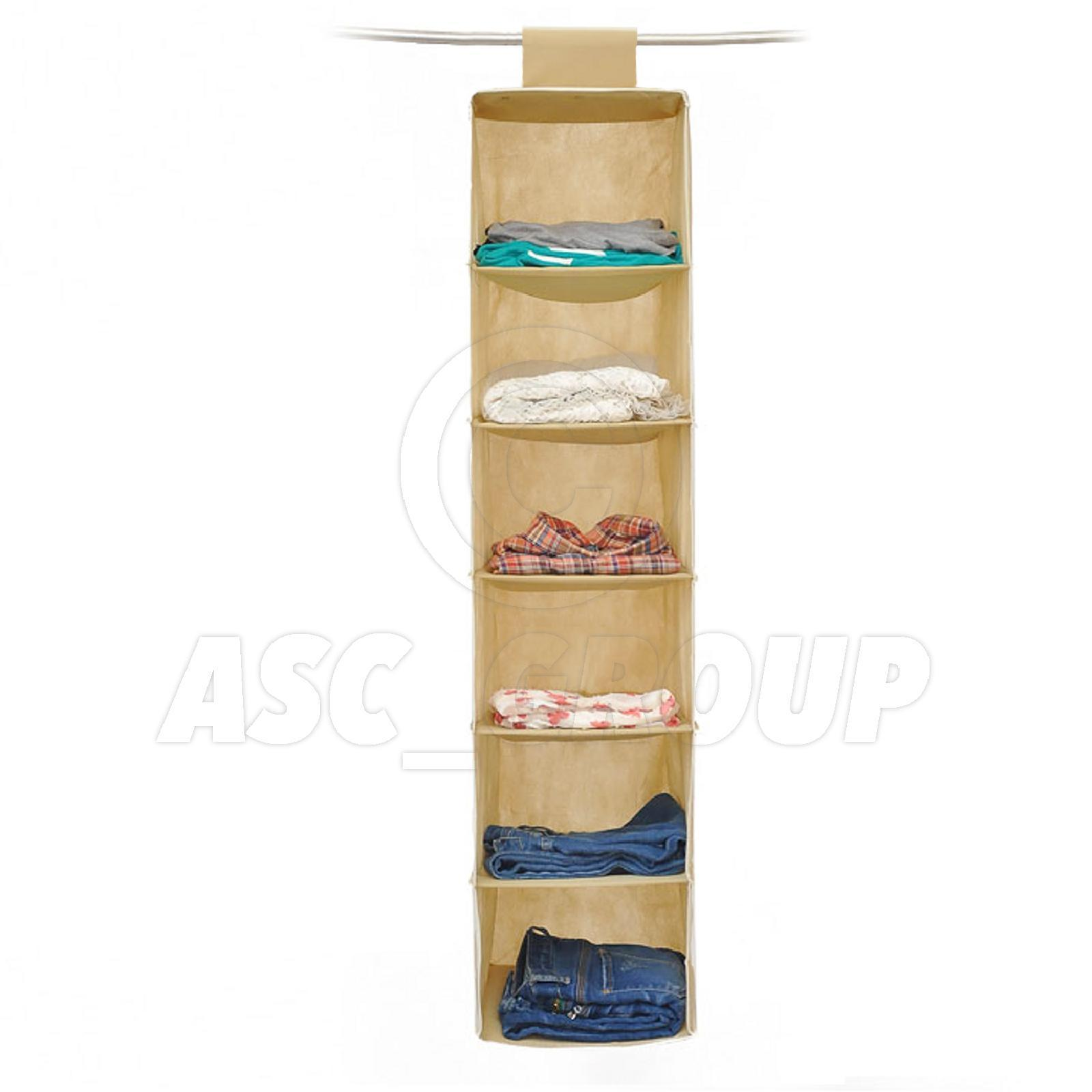 Armario organizador 6 secci n ropa prendas de vestir - Organizador de zapatos para armario ...
