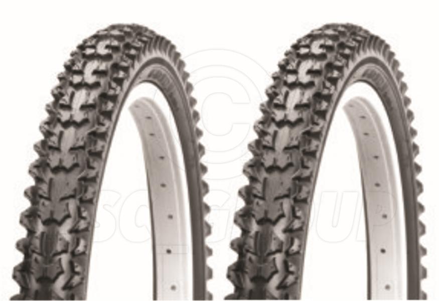 2 Bicycle Tyres Bike Tires - Mountain Bike - 26 x 2.10 - High Quality