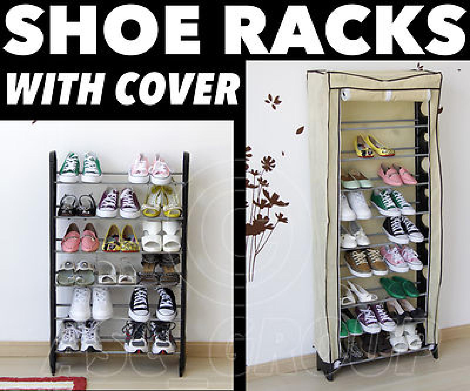 Charmant SHOE RACK Tower Storage WITH COVER Shoes Boots