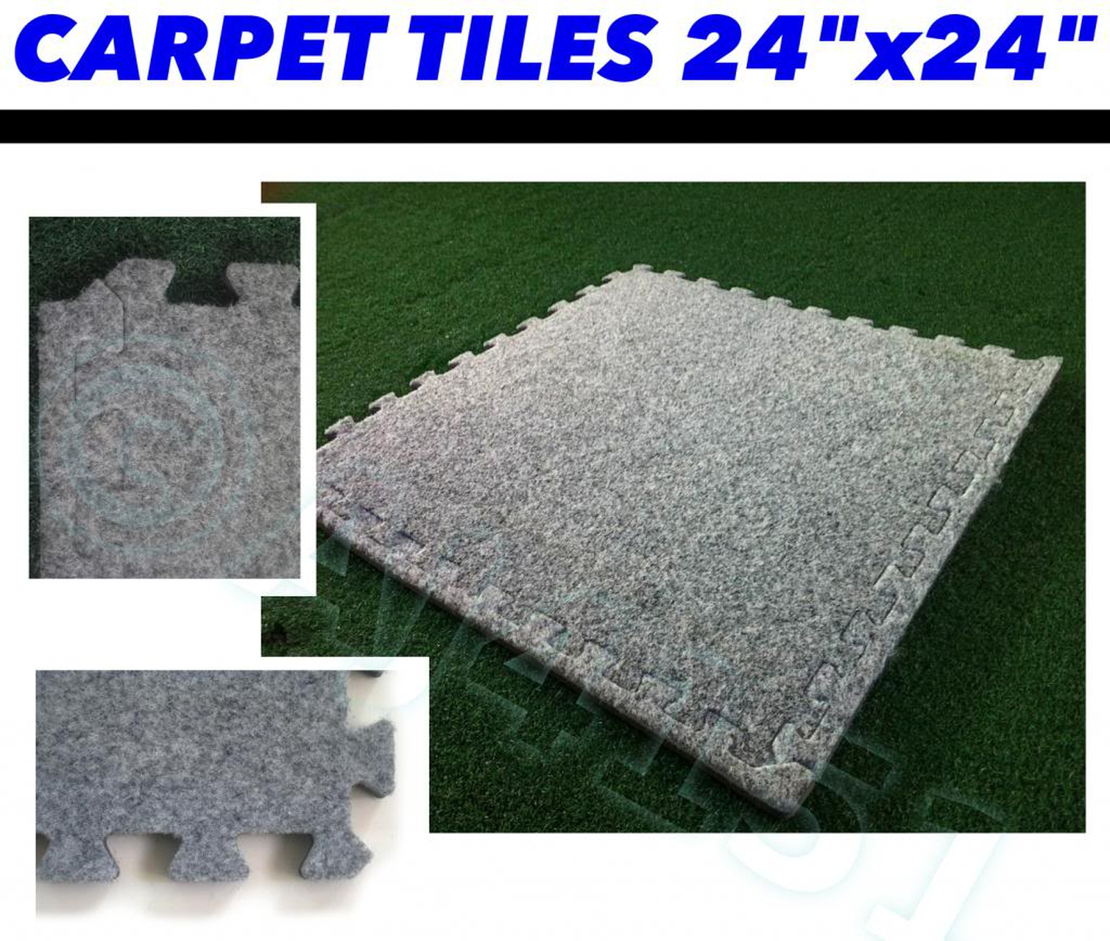 12mm thick insulated carpet tiles with underlay style for 12 mm thick floor tiles