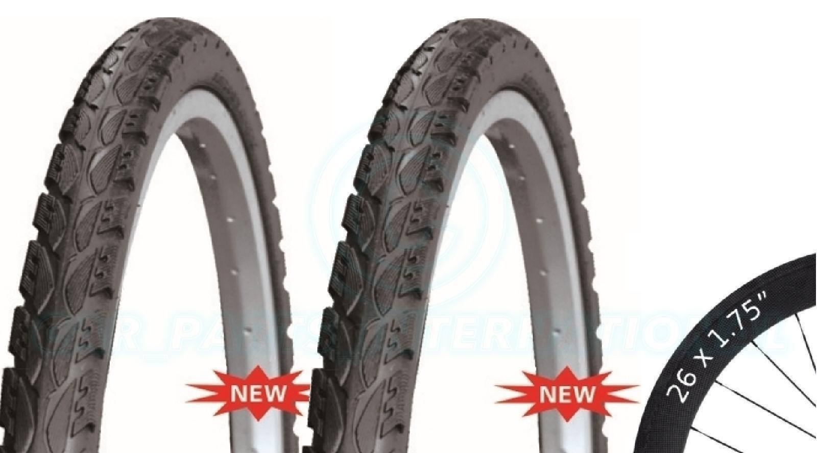2 Bicycle Tyres Bike Tires - Road / Highway - 26 x 1.75 - High Quality