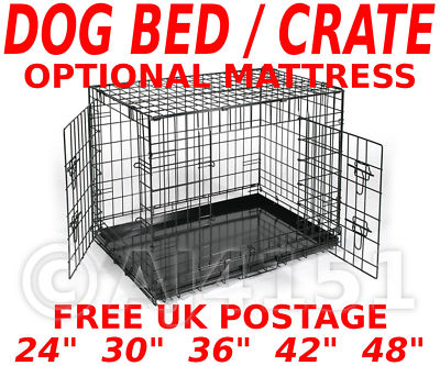 k fig transportbox hund welpe haustier faltbar 60 76 91. Black Bedroom Furniture Sets. Home Design Ideas