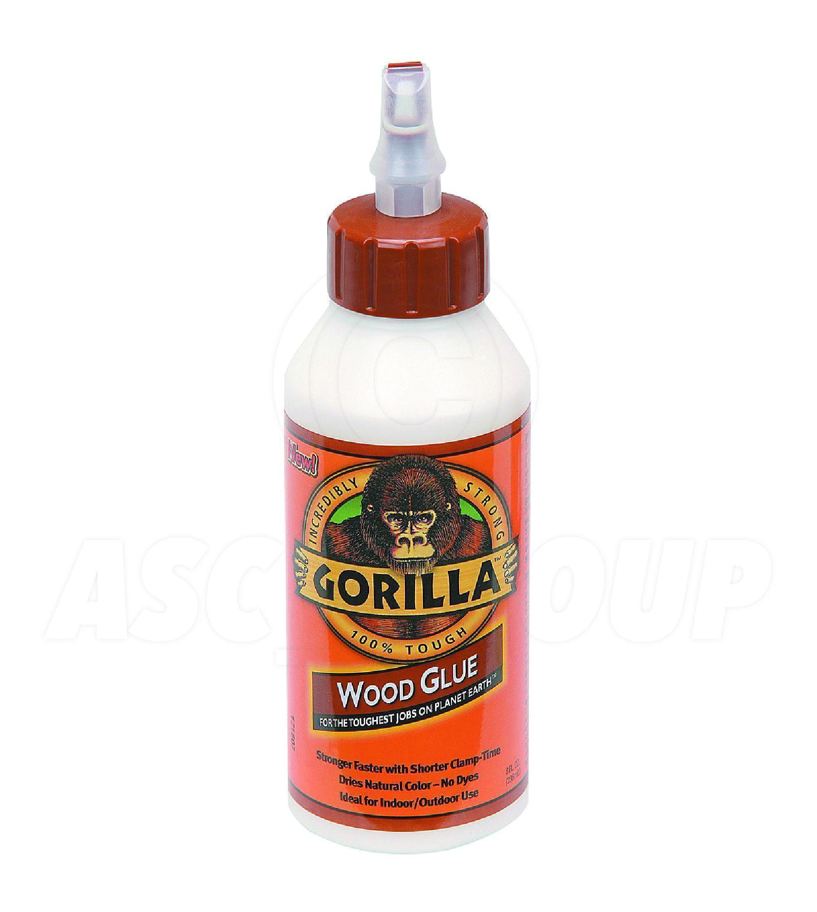 Gorilla pegamento madera 236 ml agua resistente pva - Pegamento para plastico resistente al agua ...