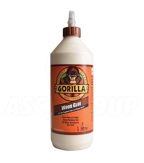 Gorilla pegamento madera 1l agua resistente pva - Pegamento para plastico resistente al agua ...